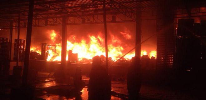 Han Tarım'da Yangın