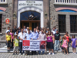 CHP Gençlik Kolları Etkinlik Startını Verdi