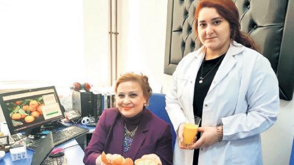 Türk doktordan mandalina mucizesi
