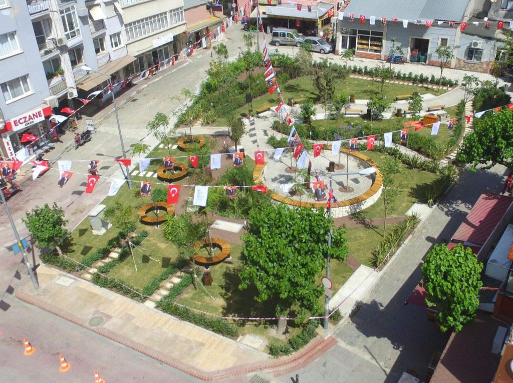 Çarşıya Nefes Aldıracak Park Açıldı