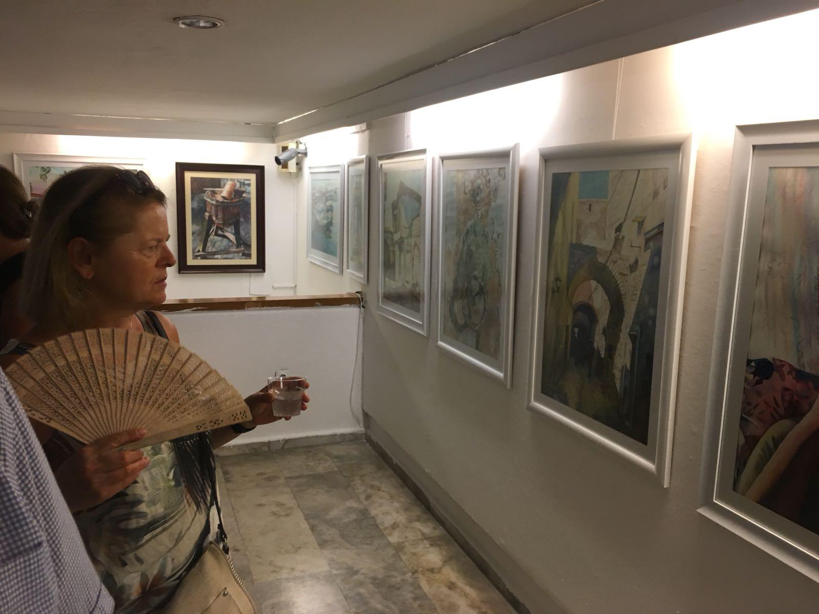Özay Malkaya Resim Sergisi Sanatseverlerle Buluştu