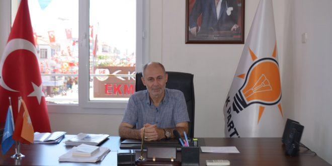 AK Parti Seferihisar'da son dakika istifası!
