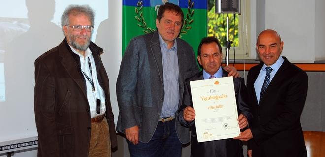 Soyer, İtalya'da Sakin Şehir Komite Toplantısı'nda