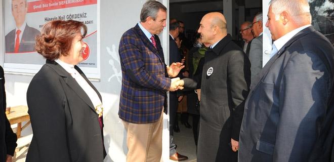 Başkan Soyer'den İade i Ziyaret