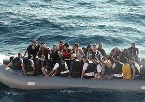 Doğanbey'de 45 kaçak göçmen yakalandı