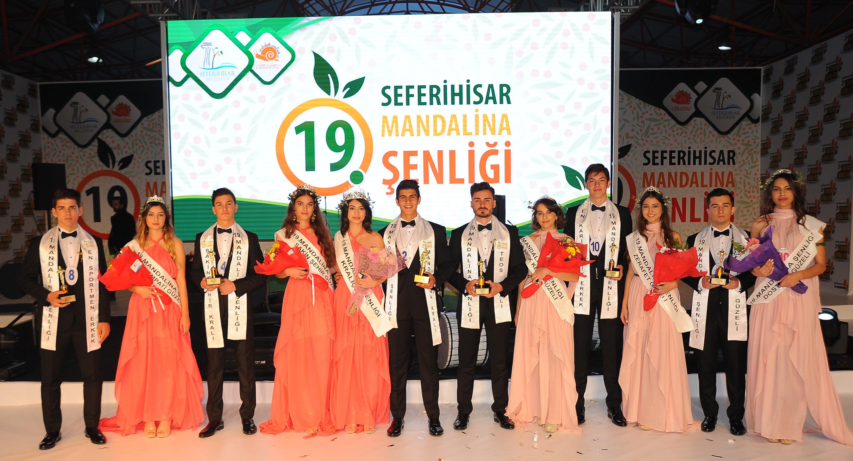 Türkiye'nin Mandalina Başkentinde Turuncu Bayram Kutlandı