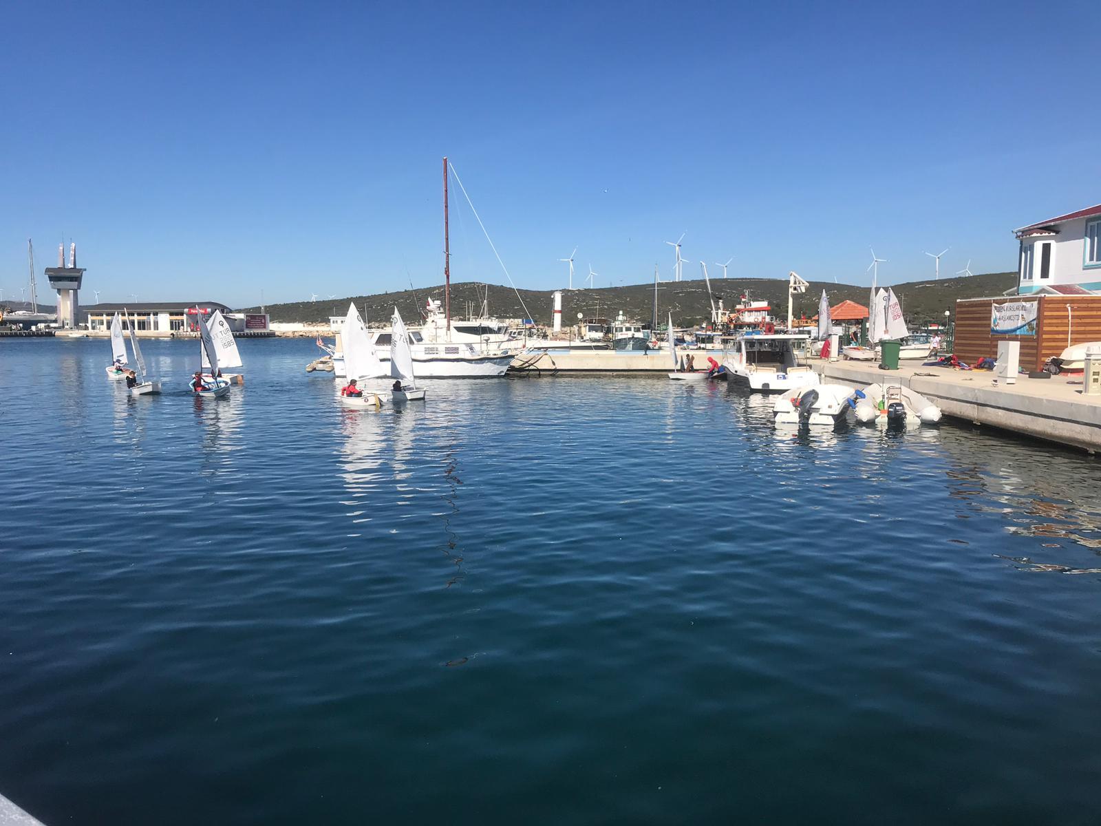 Teos Marina'da Teos Yat ve Yelken Kulübü Kuruldu
