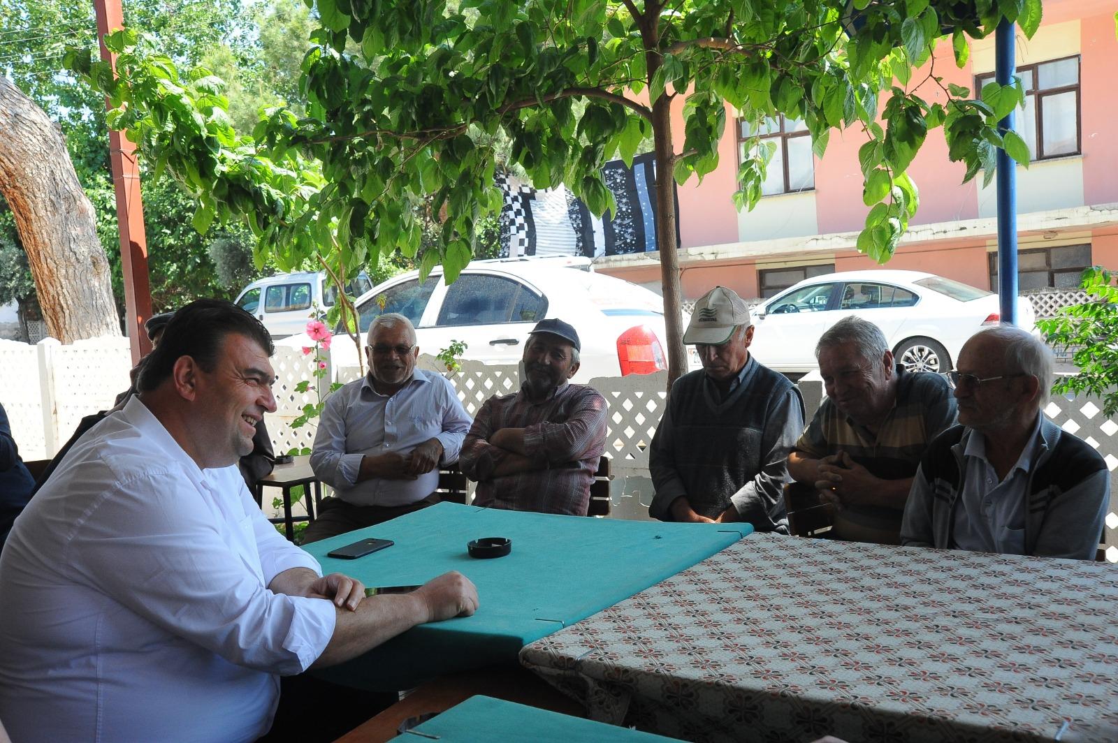 Seferihisar'dan Denizli Honaz'a destek