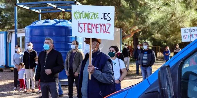 JES ile mücadele eylemine CHP'den destek