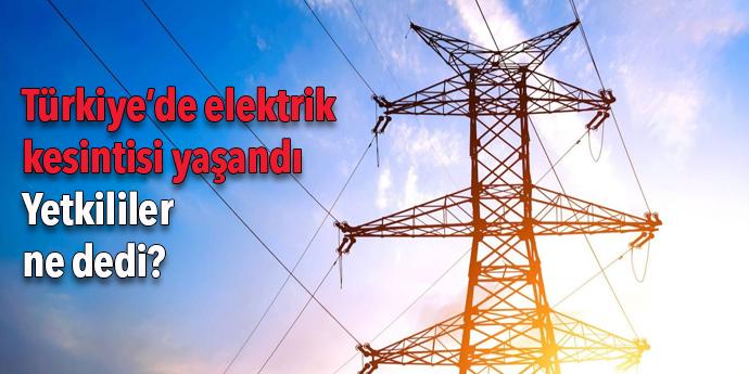 Türkiye'deki elektrik kesintisinden Seferihisar da etkilendi