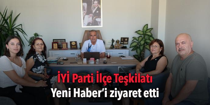 İYİ Parti'den Yeni Haber'e ziyaret