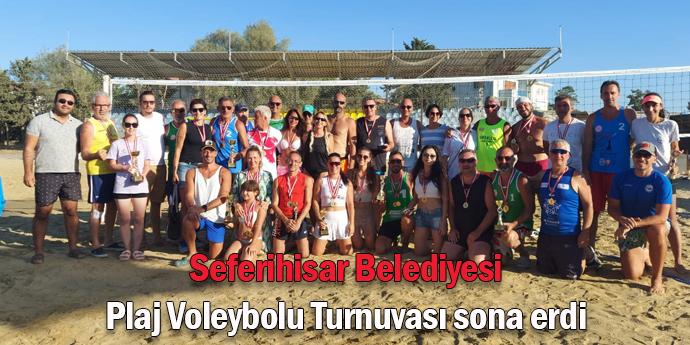 Plaj Voleybol Turnuvası'nda kupa sahibini buldu