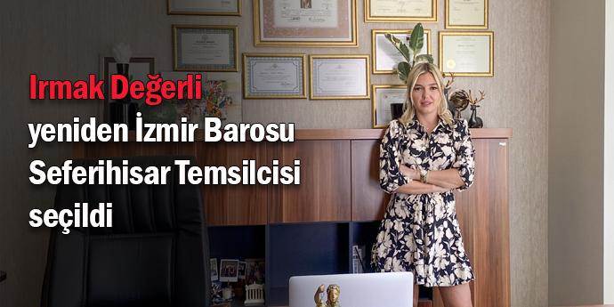 Değerli, yeniden İzmir Barosu Temsilcisi seçildi