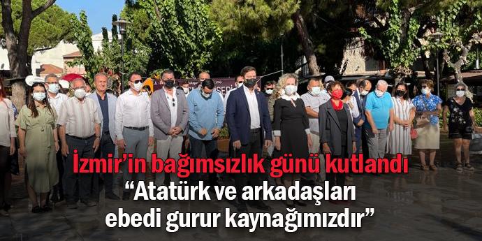 İzmir'in kurtuluşu Seferihisar'da törenle kutlandı