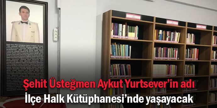 Seferihisar'ın ilk kütüphanesi açıldı