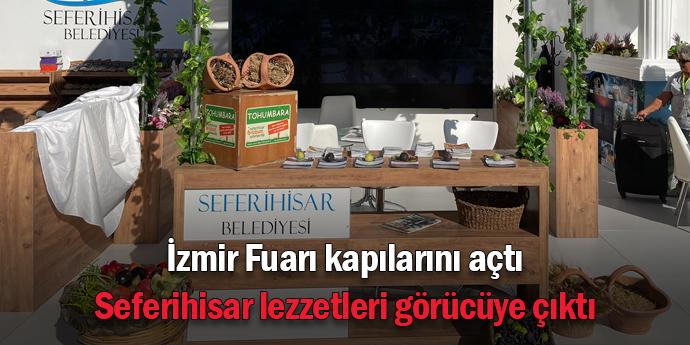 Seferihisar lezzetleri, İzmir Fuarı'nda
