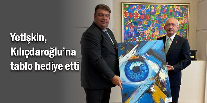 Yetişkin, Kılıçdaroğlu'na hizmet raporu sundu