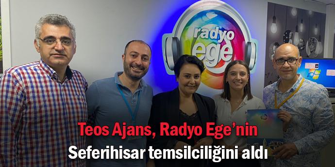 Teos Ajans ile Radyo Ege'den önemli ortaklık